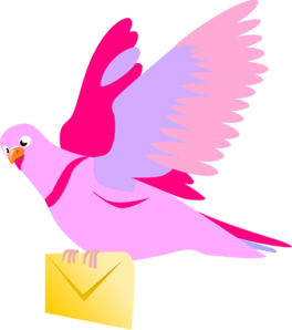 Pigeon clip art.