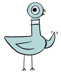 Pigeon clipart mo willems.