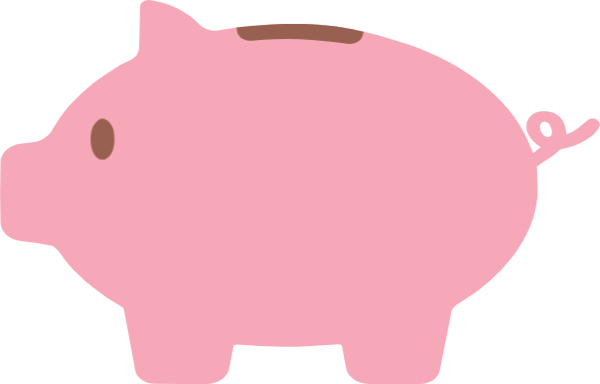 Free Online Pig Piggy Bank Money Vector For Design_sticker.