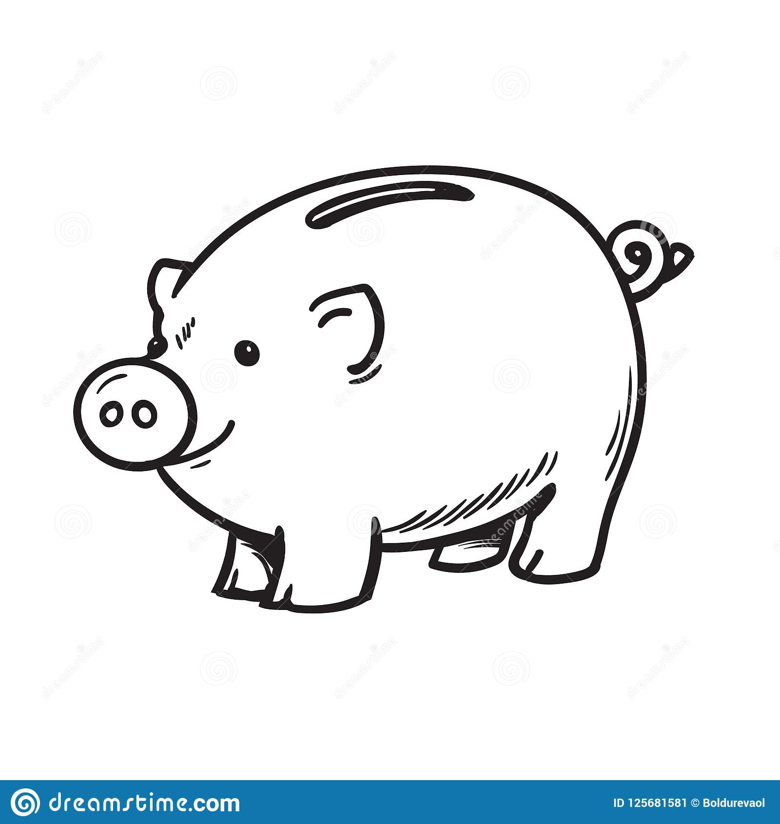 Piggy Bank Clipart Black And White (102+ images in.
