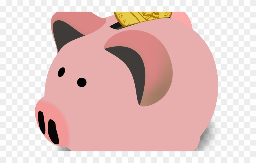 Pig Clipart Savings.