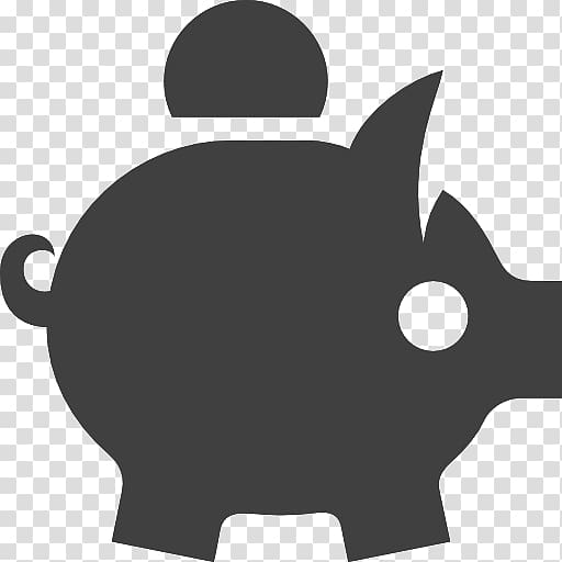 Piggy bank Money Saving Computer Icons, bank transparent.