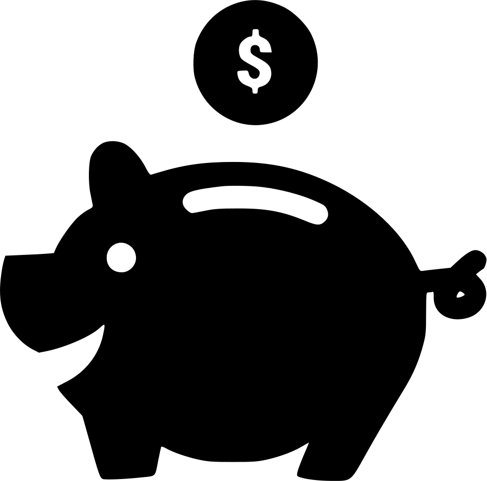 Piggy Bank Svg Png Icon Free Download (#553351.