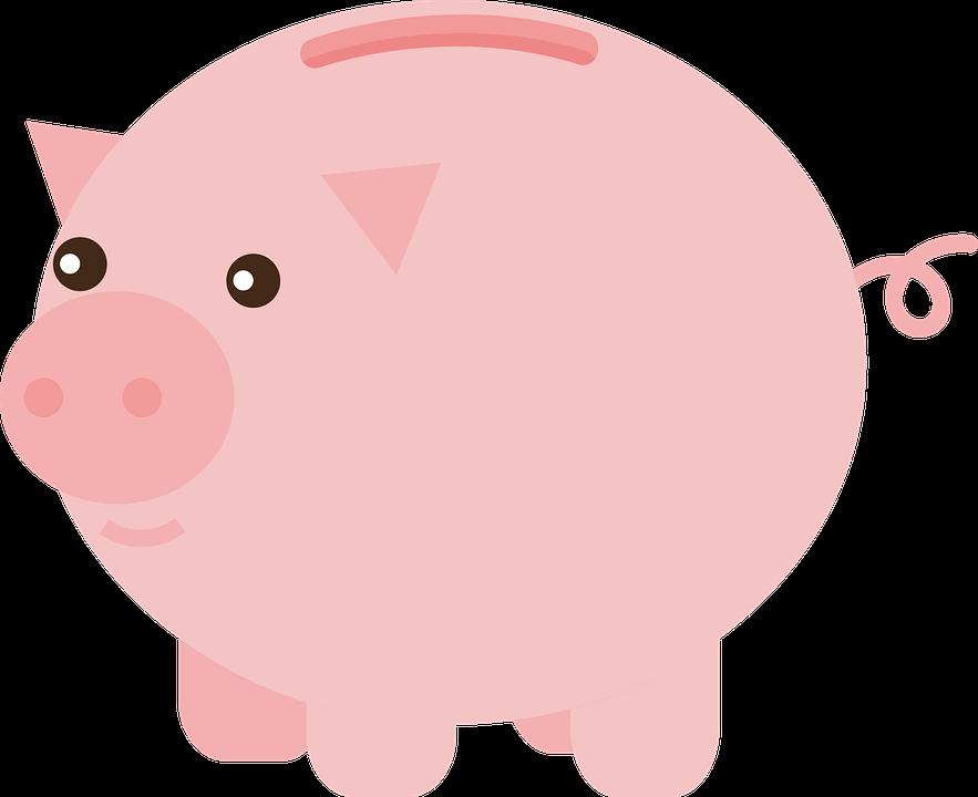 Piggy Bank PNG Images Transparent Background.