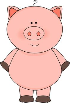 This little piggy clipart.