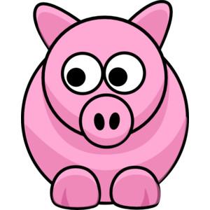 Piggy clip art.