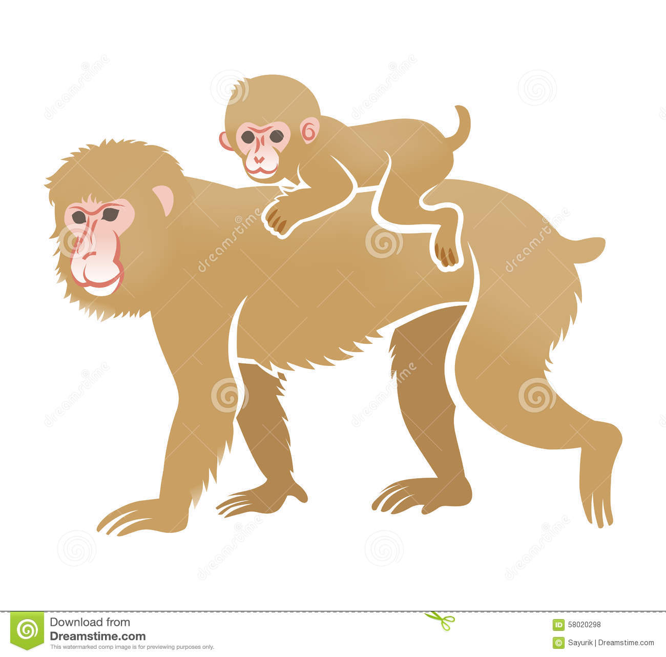 Year Of The Monkey Clip Art.