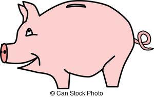 Piggy bank clipart images.