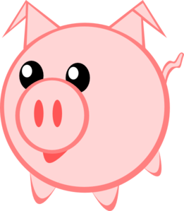Pig Clip Art at Clker.com.