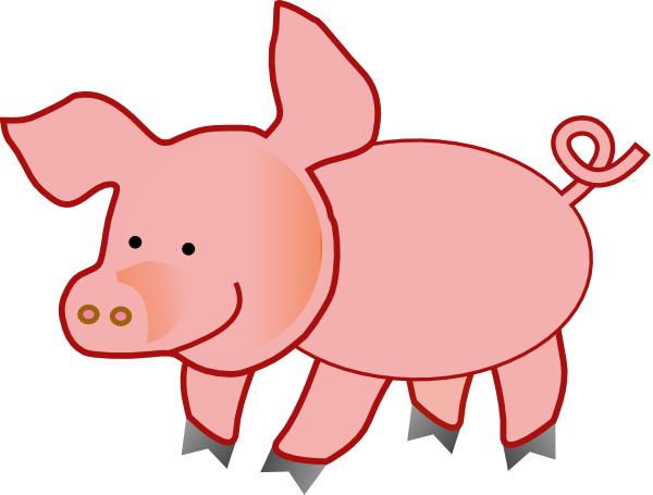 Pigs Cartoon Pig Clipart.