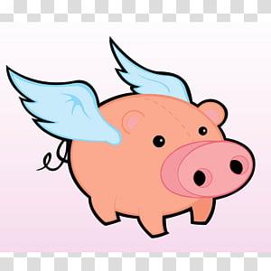 Flying Pig Marathon PNG clipart images free download.