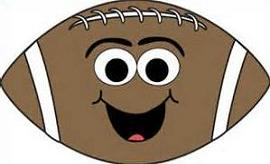 Free Football Pigskin Clipart.