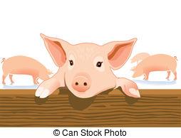 Pigsty Vector Clipart EPS Images. 57 Pigsty clip art vector.