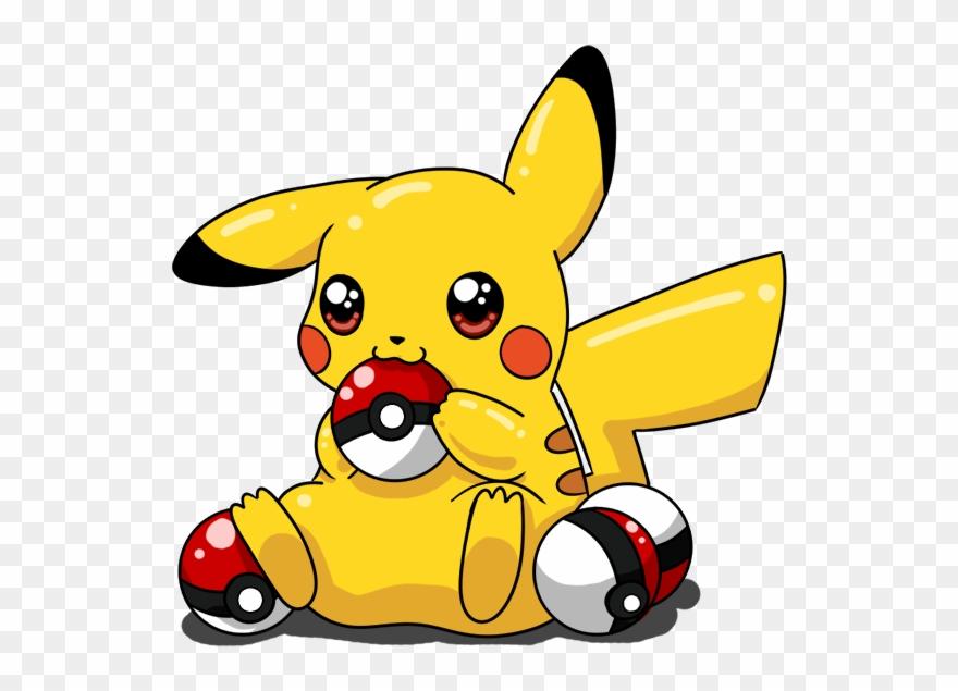 Drawn Pikachu Pikachu Pokeball.