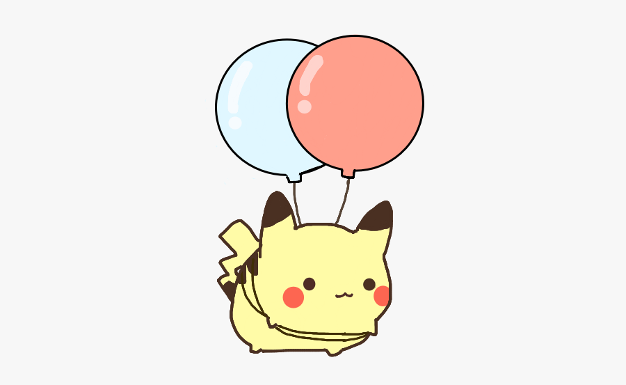 Jpg Royalty Free Library Cute Pikachu Ballon Pokemon.