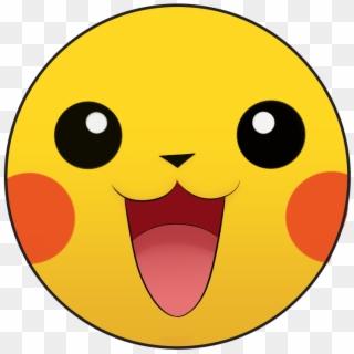 Free Pikachu Face Png Transparent Images.
