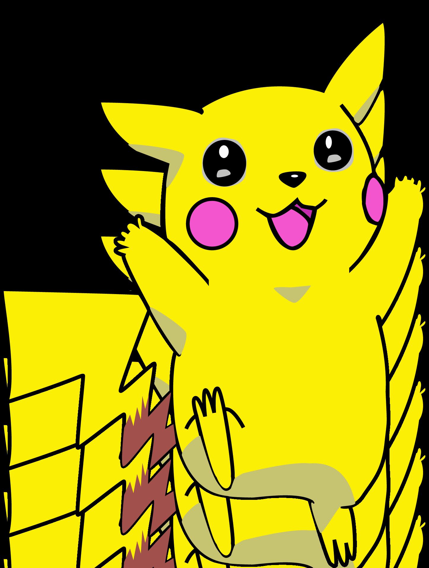 Pikachu Icon, Transparent Pikachu.PNG Images & Vector.