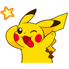 Pikachu\'s Lively Voiced Stickers ♪.