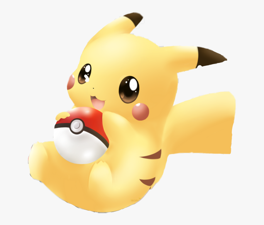 pokemon #pickachu #cute #pikachu #kawaii #pokeball.