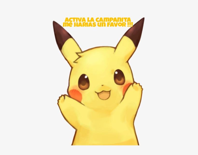 Pikachu Kawaii Para Youtubers Otakus.
