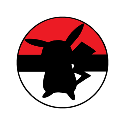 Pikachu Ball Logo.
