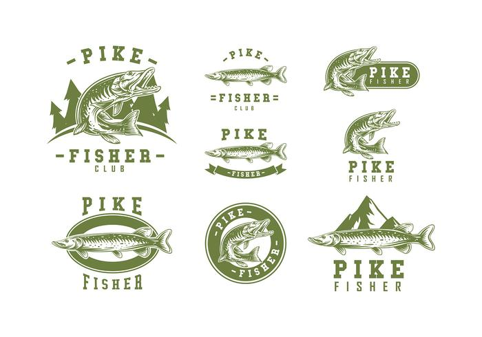 Pike Logo Vector.