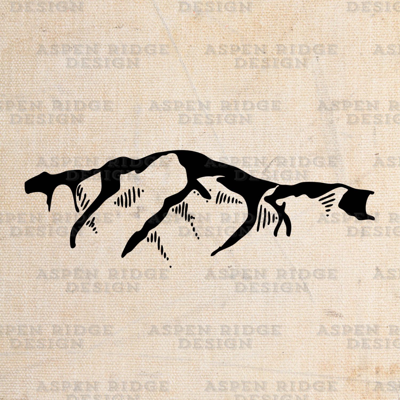 Pikes Peak Colorado Instant Download Printable Digital Art.