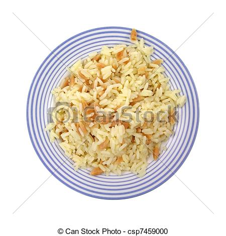 Stock Photography of Rice Pilaf.