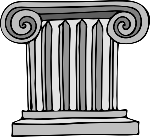 Short Pillar Clip Art at Clker.com.