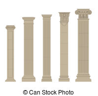 Pilaster Vector Clip Art Illustrations. 476 Pilaster clipart EPS.