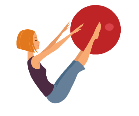 Pilates Clipart.