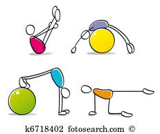 Pilates Illustrations and Stock Art. 1,805 pilates illustration.