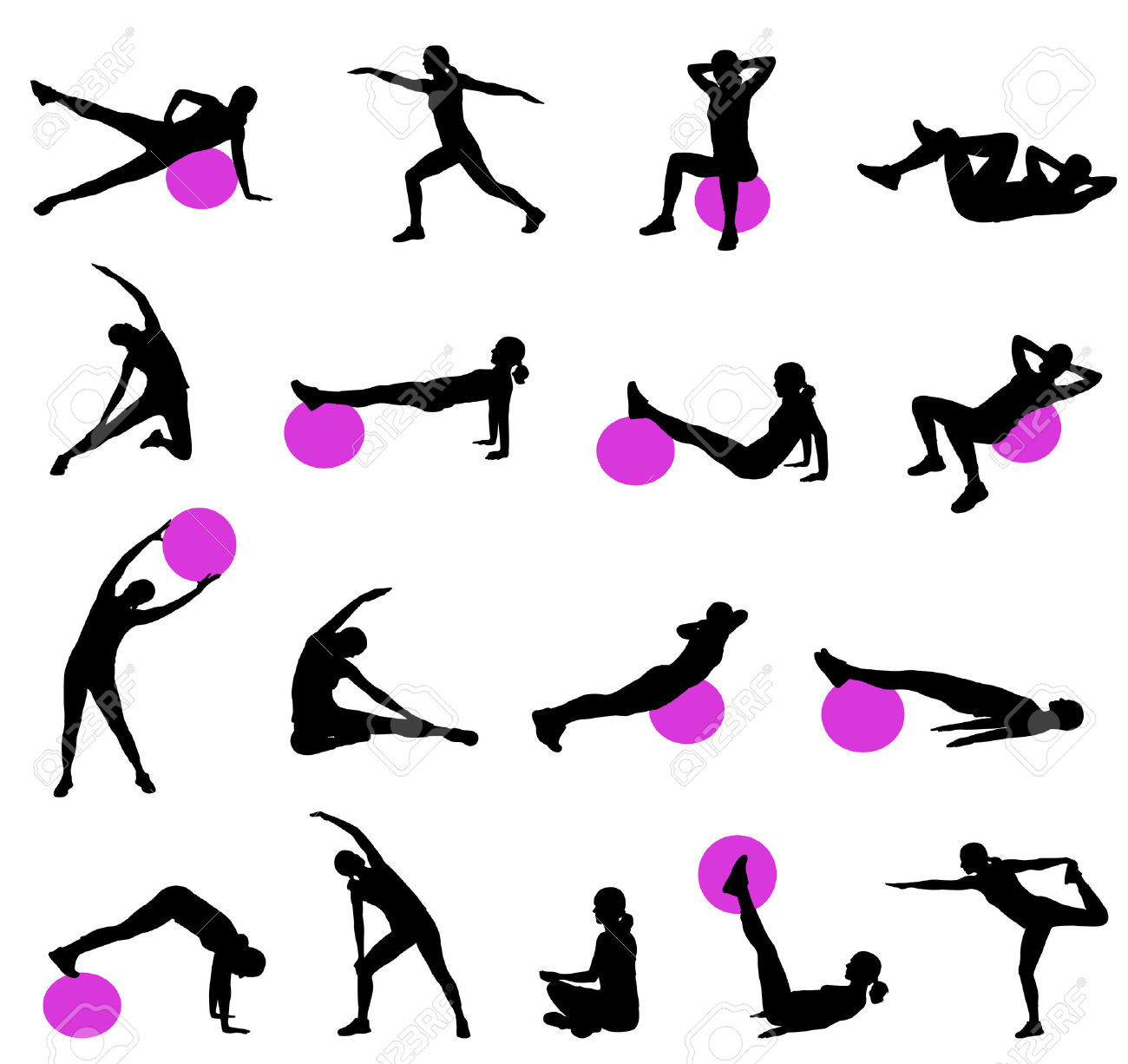 6,863 Pilates Stock Illustrations, Cliparts And Royalty Free.