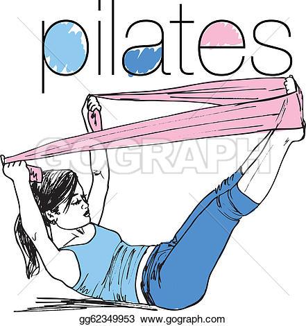 Pilates Clip Art.