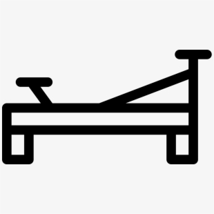 Pilates Reformer Svg Png Icon Free Download.