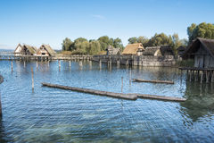 Neolithic Lake Dwellings At The Lake Constance Editorial Stock.