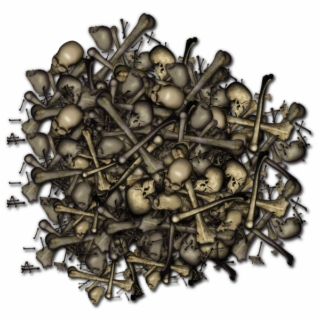 Free Pile Of Bones PNG Image, Transparent Pile Of Bones Png.