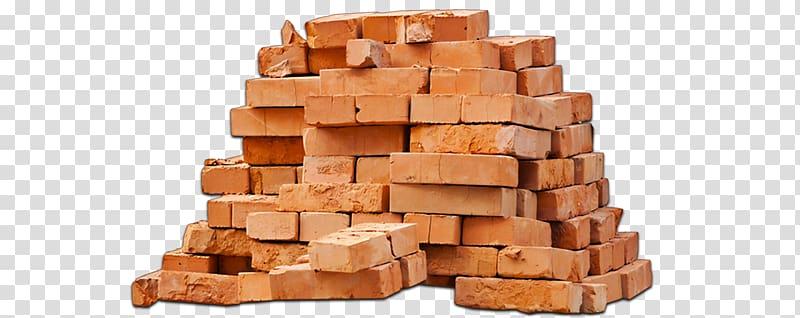 Pile of bricks, Brick Building Materials Architectural.
