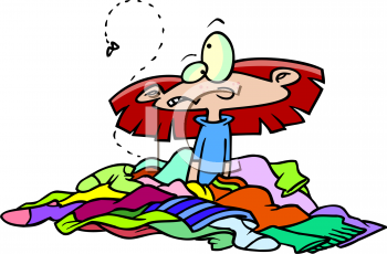 Pile of clothes clipart 1 » Clipart Station.