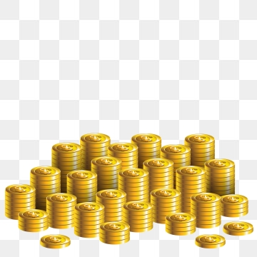 A Pile Of Coins Png, Vector, PSD, and Clipart With.