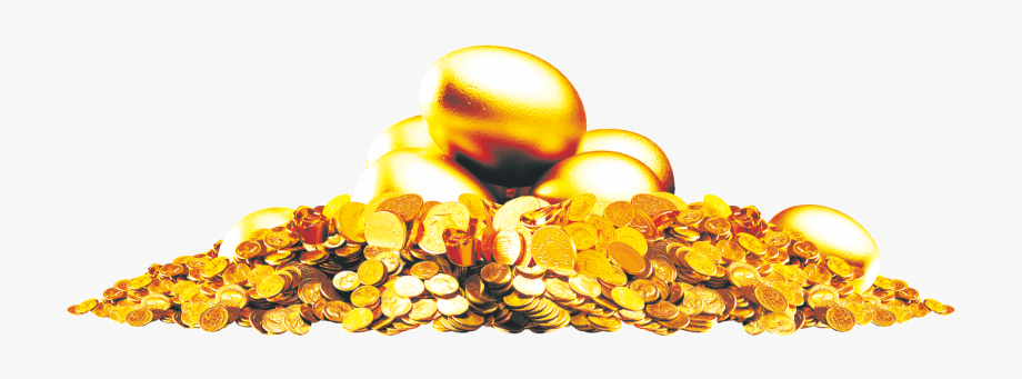 Coin Pile Png.