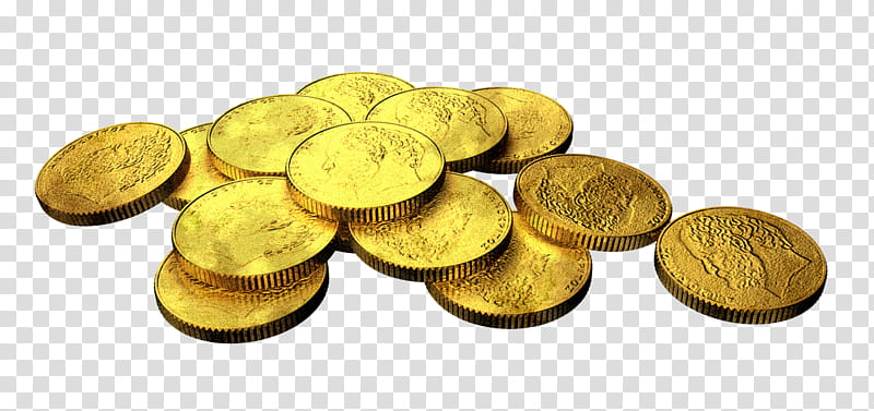 MB Golden Coins, pile of gold.