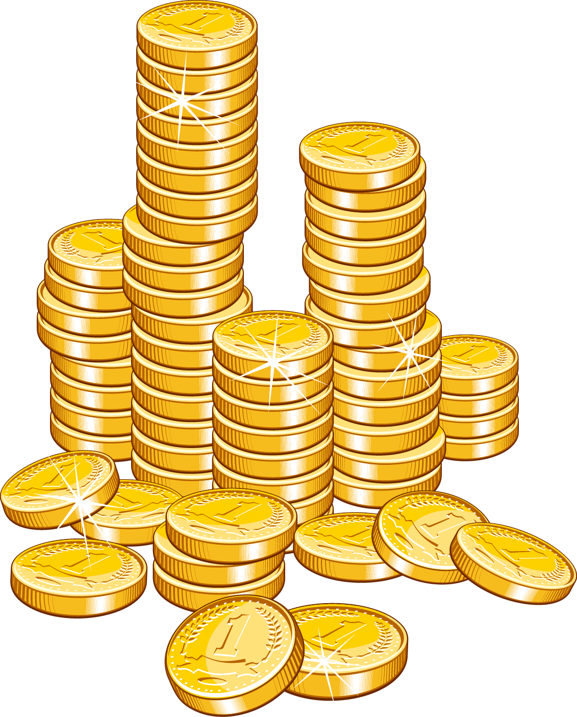 Pile Of Gold Coins Png, png collections at sccpre.cat.