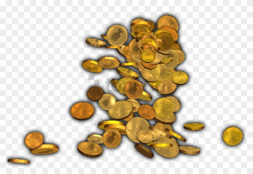 Free Png Pile Of Gold Coins Png Png Image With Transparent.