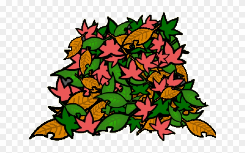 Leaves Clipart Pile Leaves, HD Png Download.
