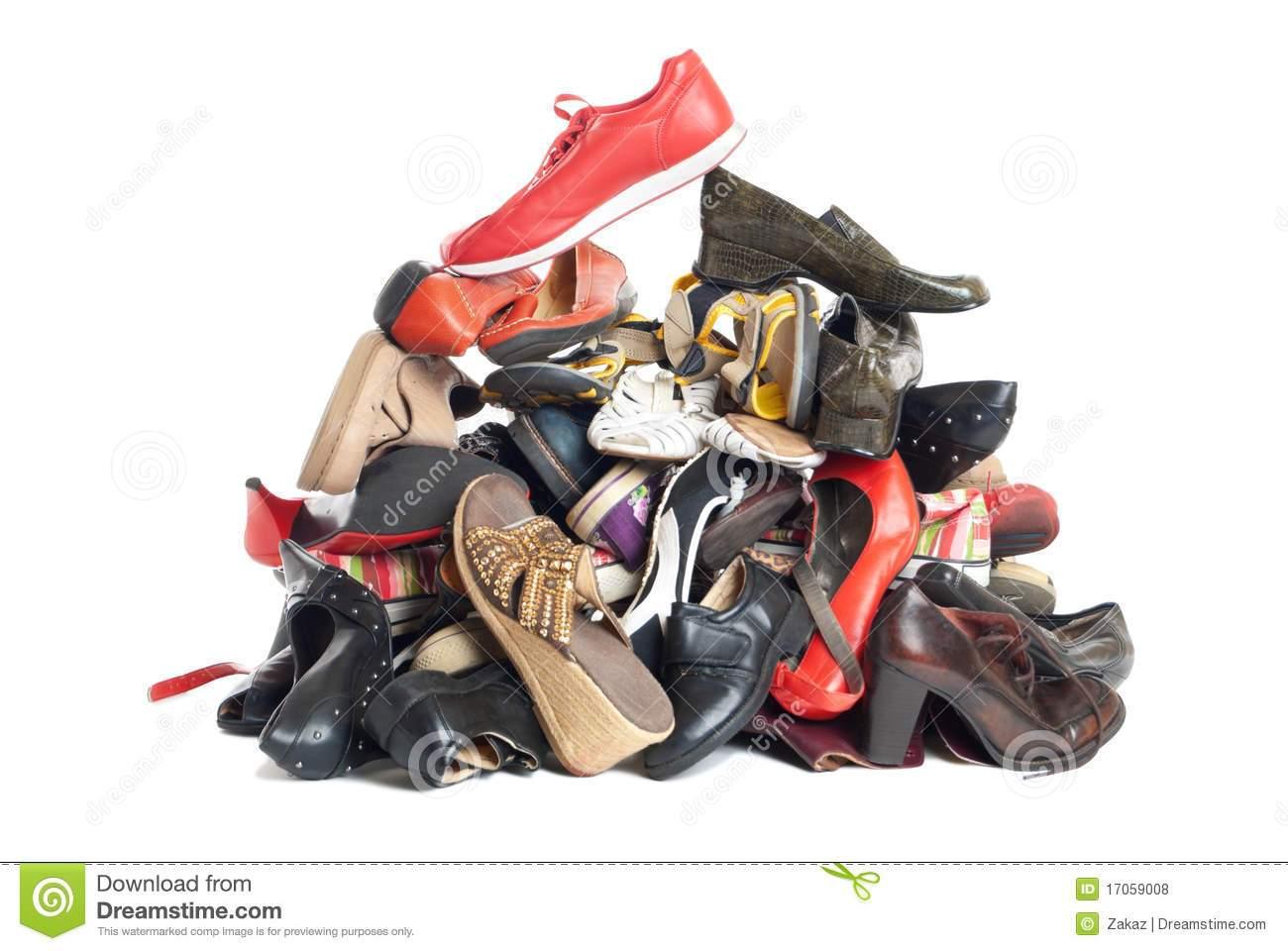 Pile of shoes clipart 6 » Clipart Portal.
