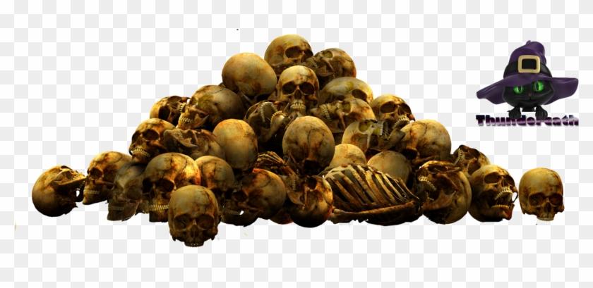 Pile Of Skulls Png File.