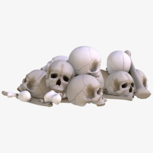Pile Of Skulls Png PNG Images.