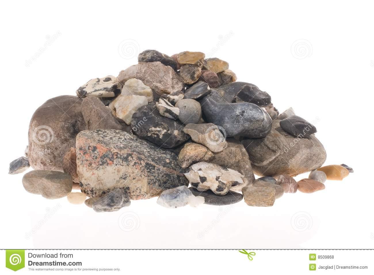 Pile Of Stones Royalty Free Stock Photos.