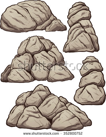 Pile Of Rocks Stock Images, Royalty.